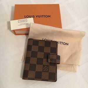 Authentic Louis Vuitton mini card case